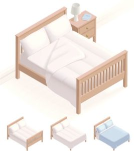 bed-size-clipart