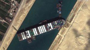 ever giver bloque canal de Suez
