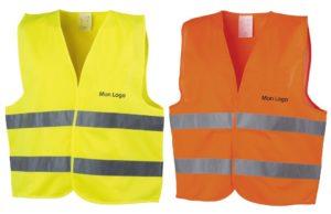 gilet-jaune-orange-personnalise-securite-routiere-logo-publicitaire