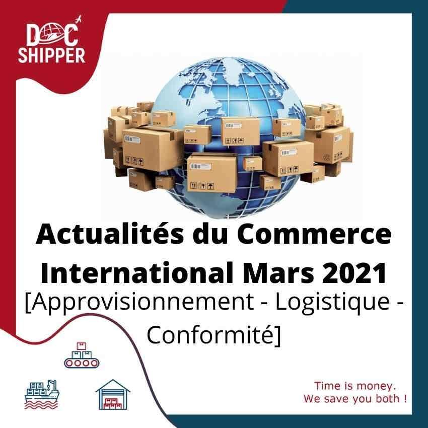 ACTUALITÉS DU COMMERCE INTERNATIONAL