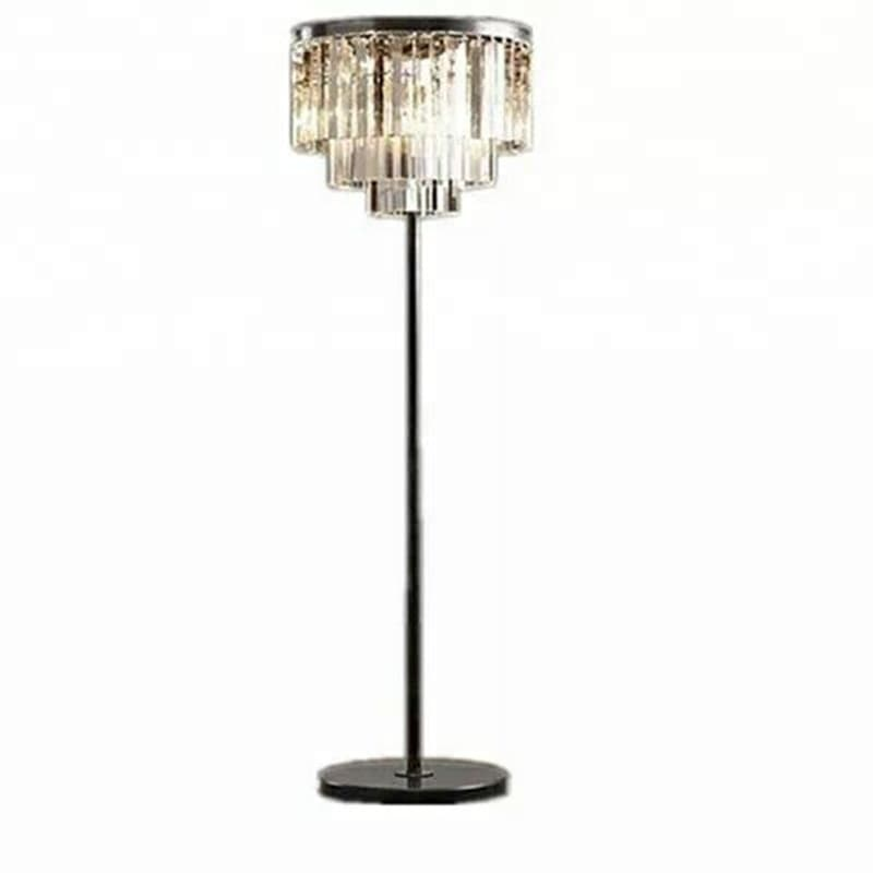 Lampe de salon en crystal