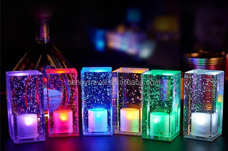 Lumière ambiance en crystal