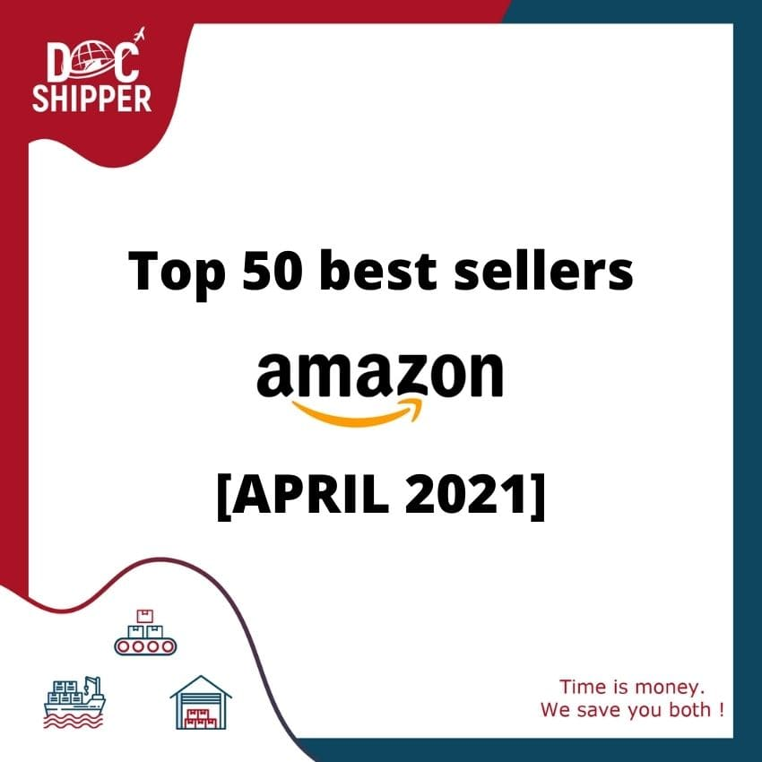 Top 50 best sellers Amazon [APRIL 2021]