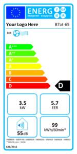 étiquette énergie clim