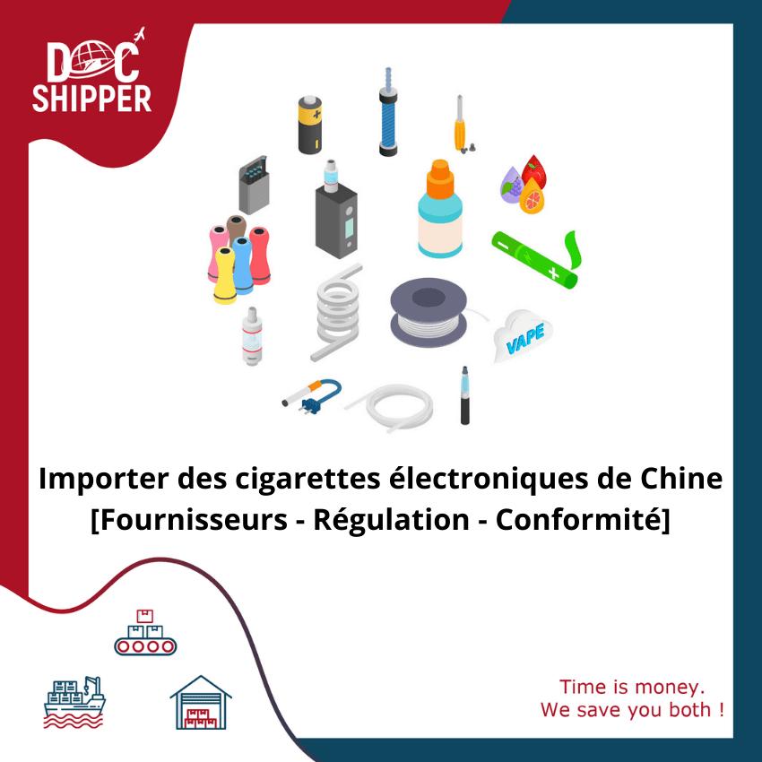 importer des cigarettes électroniques