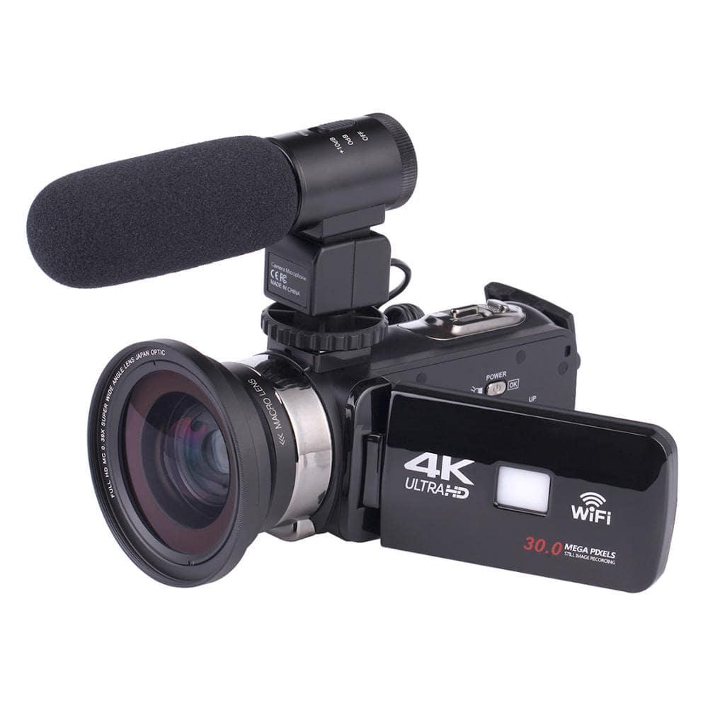 Caméra avec micro