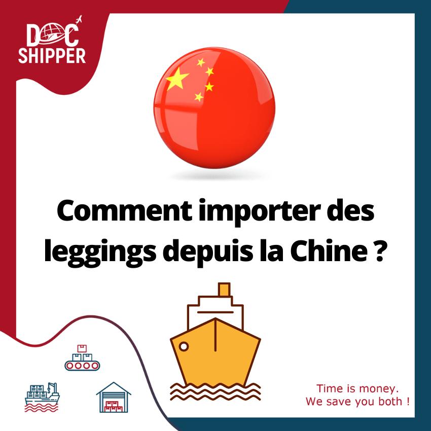 Comment importer des leggings depuis la Chine [GUIDE COMPLET]