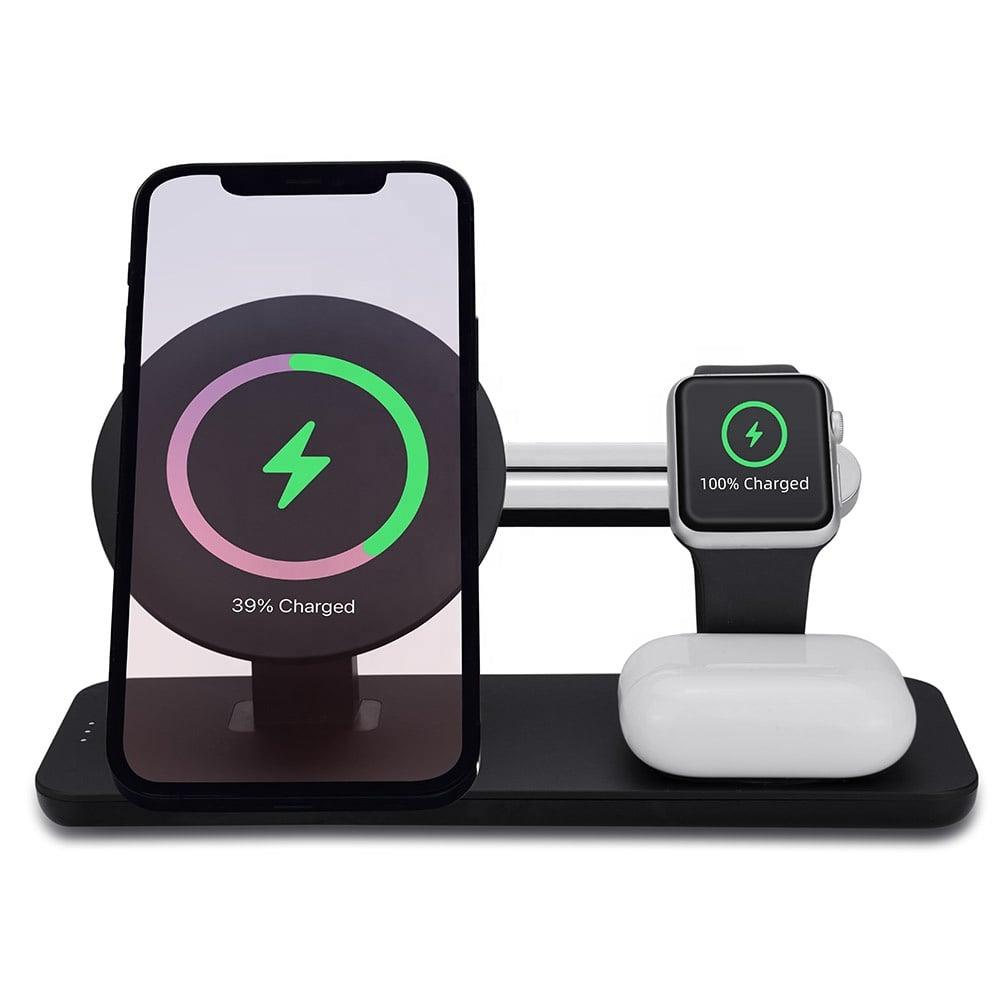 Plateforme de charge téléphone + montre co + écouteurs