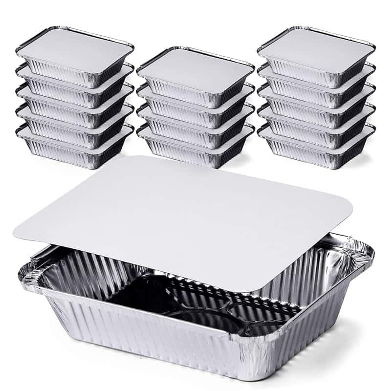 Aluminium food packaging
