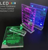 Customizable engraved LED card-Docshipper