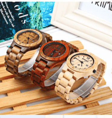 Natural Wood Watches Bewell-docshipper