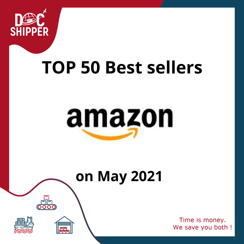 Top 50 best-sellers Amazon May 2021