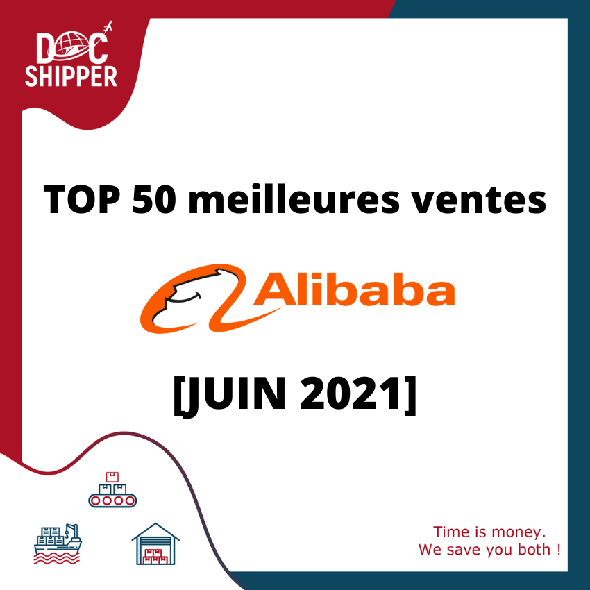 TOP 50 ALIBABA JUIN 2021