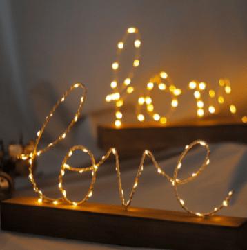 Wooden Model Art with Light-Docshipper