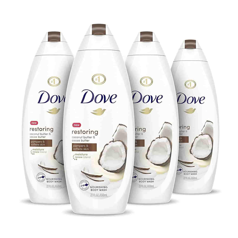 Dove coco body wash