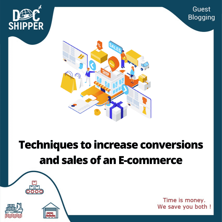 Techniques ton increase conversions in sales of an ecommerce