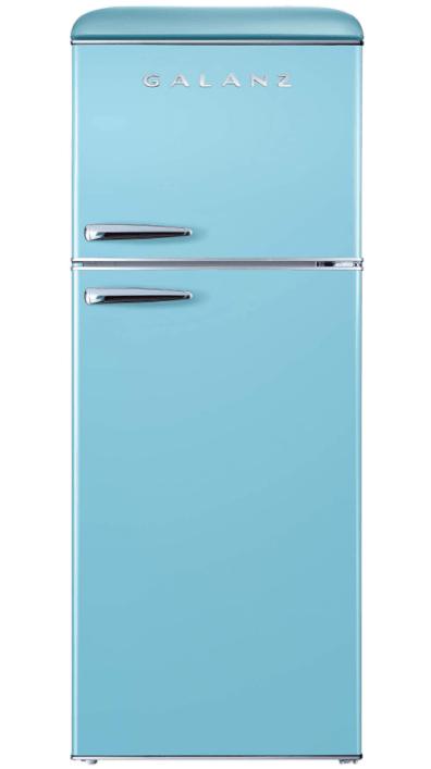 Galanz GLR74BBER12 Retro Bottom Mount Refrigerator