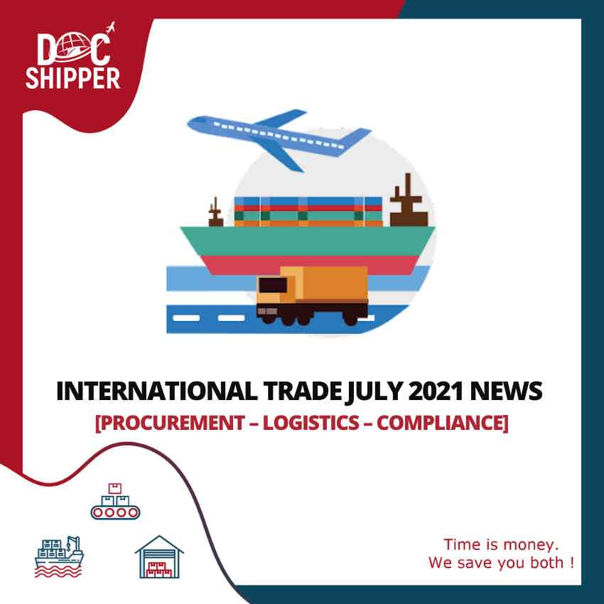 the international trade July news