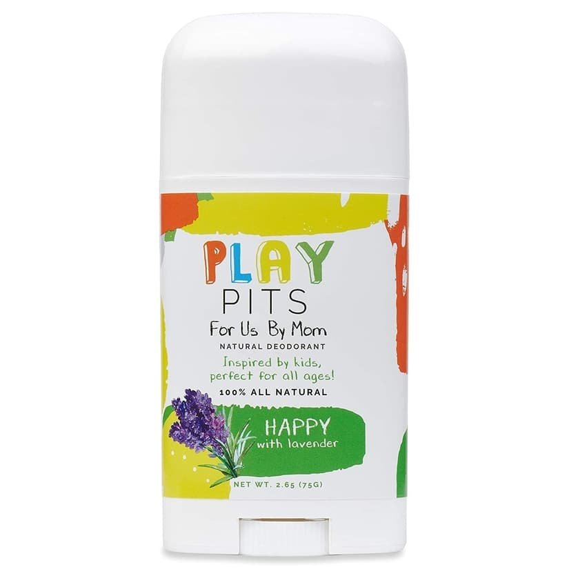 PLAY PITS Natural Deodorant