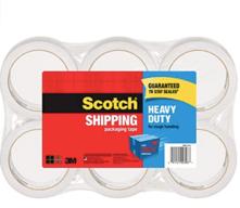 Scotch Heavy Duty Packaging Tape DocShipper