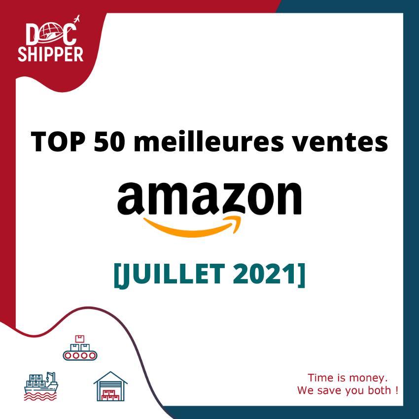 TOP 50 AMAZON Juillet