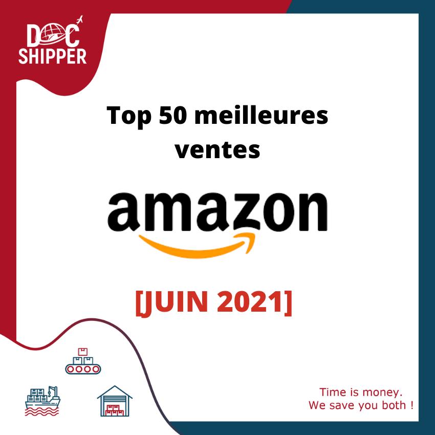 Top 50 meilleurs ventes Amazon 2021