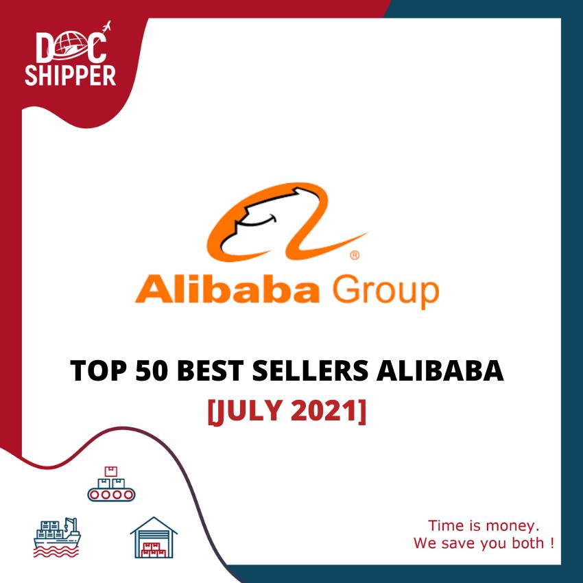 BEST SELLERS ALIBABA JULY