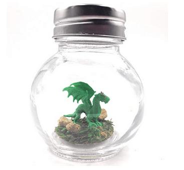 World's Smallest Pet Dragon Green