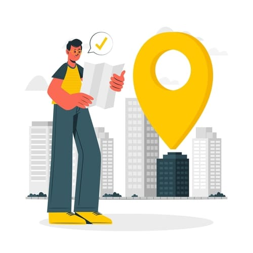 localisation fournisseurs