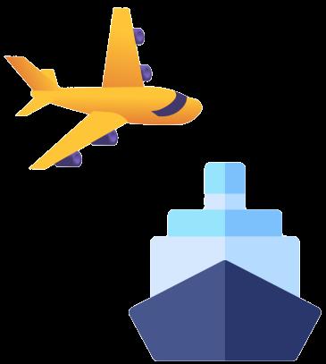 fret aerien maritime