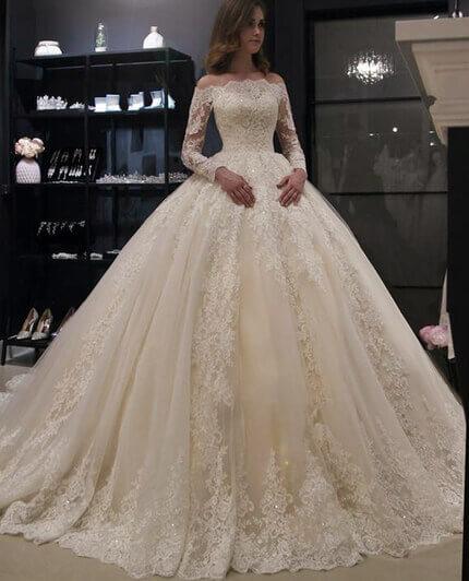 robe mariage blanche dentelle