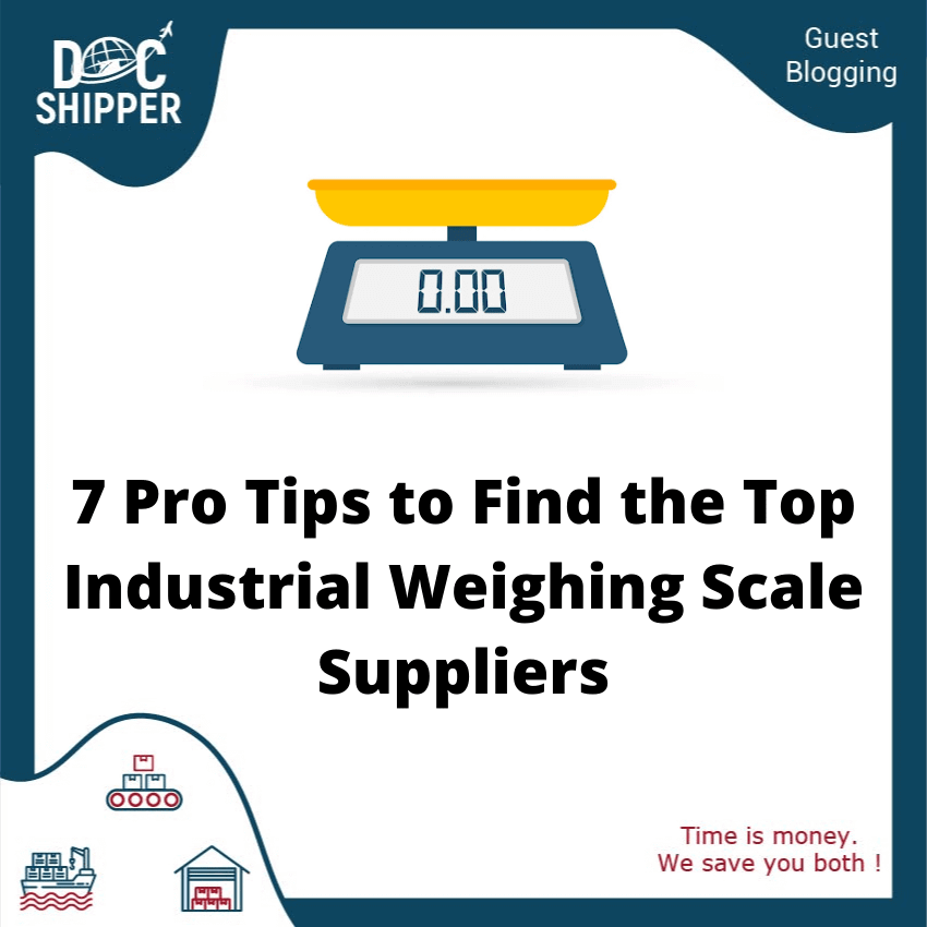 Top industrial weighing scale suppliers docshipper