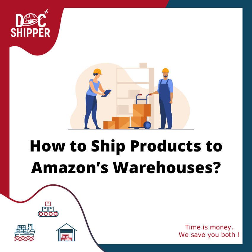 how to ship products to amazon warehouses