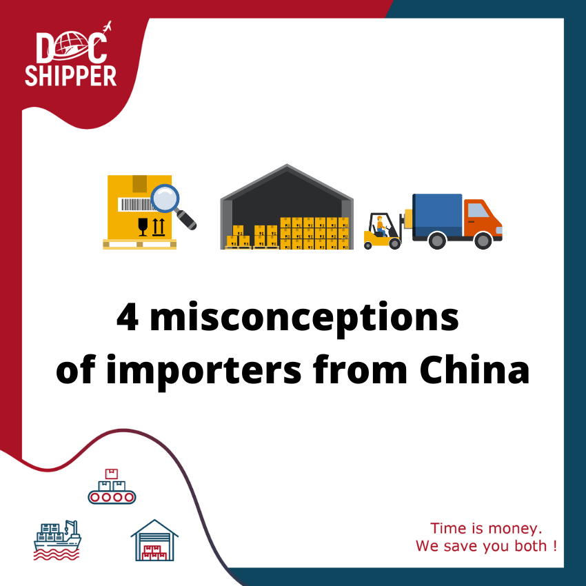 misconceptions of importers from china