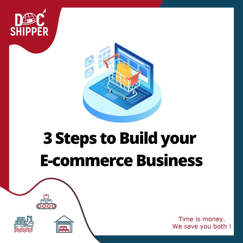 steps build ecommerce business